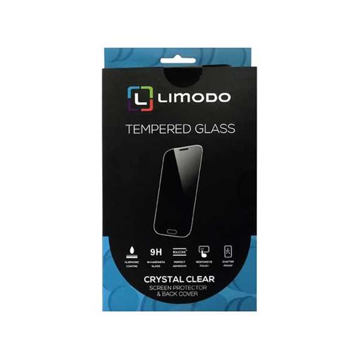 صورة ليمودو حماية شاشة زجاجية + غطاء خلفي لاجهزة هواوي واي 6 2019