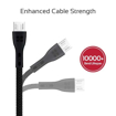 Picture of Promate Durable Ultra-Fast Cable USB-A To Micro-USB Cable 1.2m - Black
