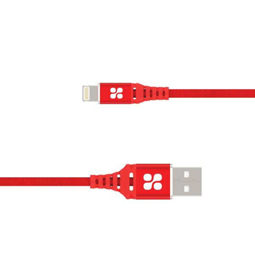 Picture of Promate Durable Apple MFi Ultra-Slim Lightning Cable 1.2m - Red