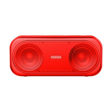 Picture of Promate Portable Dynamic Stereo Speaker Navy - Red