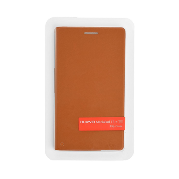 Picture of Huawei MediaPad T3-7 Flip Cover - Brown