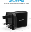 Picture of Anker PowerPort+ Wall Charger With 1 Port QC3.0 With Micro USB Cable - UK - Black
