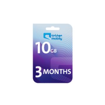 الصورة: موبايلي بطاقة اعادة شحن الانترنت 10 جيجا لمدة 3 أشهر