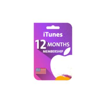 الصورة: بطاقة هدايا 12 شهر - Apple Music
