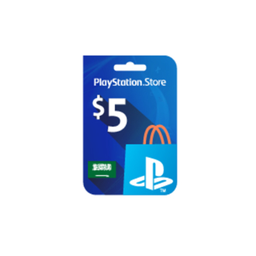 Picture of PlayStation Network - $5 PSN Card (Saudi Store)
