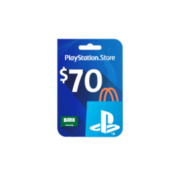 Picture of PlayStation Network - $70 PSN Card (Saudi Store)