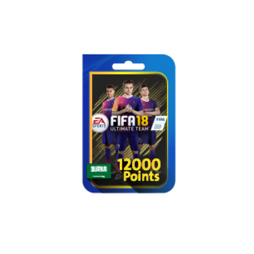 Picture of FIFA 18 Ultimate Team 12000 Points (Saudi Store)