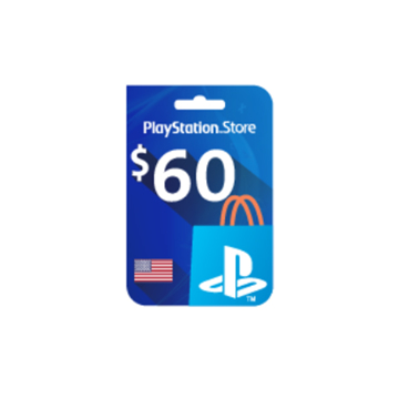 Picture of PlayStation Network - $60 PSN Card (United States Store)
