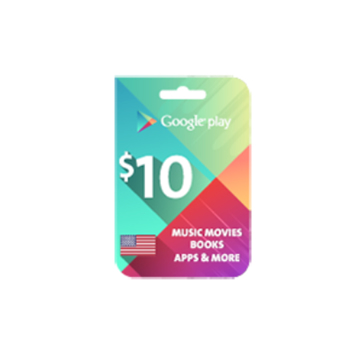 Picture of Google Play $10 (US Store)