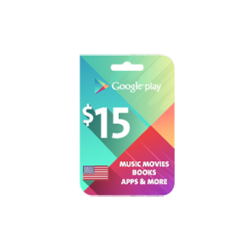 Picture of Google Play $15 (US Store)