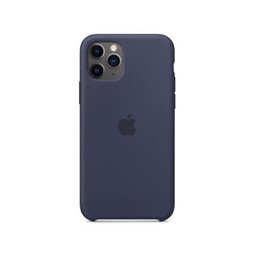 الصورة: ابل غطاء حماية خلفي سيليكون لاجهزة ابل iPhone 11 Pro - ازرق