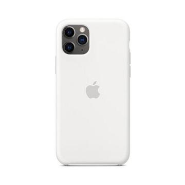 الصورة: ابل غطاء حماية خلفي سيليكون لاجهزة ابل iPhone 11 Pro - أبيض