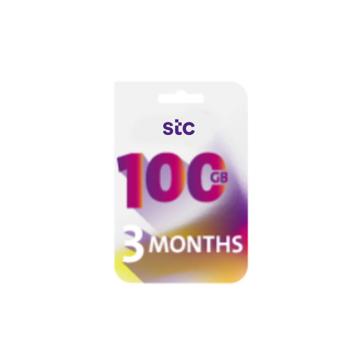 الصورة: STC بطاقة كويك نت -100جيجا - لمدة 3 شهر
