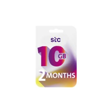 الصورة: STC بطاقة كويك نت -10جيجا - لمدة 2 شهر