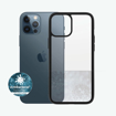 Picture of Panzer Glass Clear Case for iPhone 12 pro Max (6.7 in) 2020  With Black Frame
