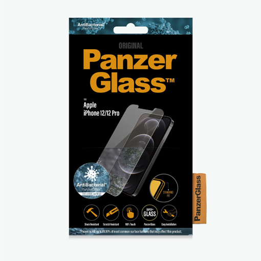 """Picture of Panzer Glass For iPhone 12/12 Pro- 6.1"""" 2020 Standard Fit"""