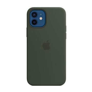 الصورة: ابل غطاء حماية خلفي سيليكون لاجهزة ابل iPhone 12 - 12 Pro - أخضر