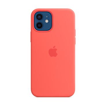 الصورة: ابل غطاء حماية خلفي سيليكون لاجهزة ابل iPhone 12 - 12 Pro - وردي