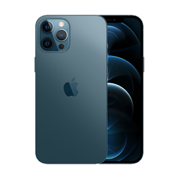الصورة: Apple iPhone 12 Pro Max, 128 GB - Pacific Blue