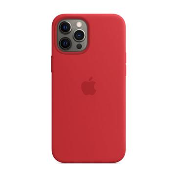 الصورة: ابل غطاء حماية خلفي سيليكون لاجهزة ابل  iPhone 12 Pro Max - أحمر