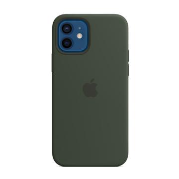 الصورة: ابل غطاء حماية خلفي سيليكون لاجهزة ابل  iPhone 12 Pro Max - أخضر