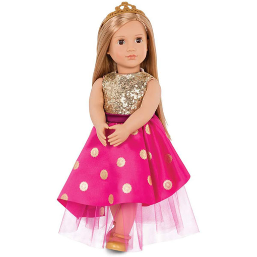 Picture of Our Generation Doll Sarah With Festive Dress & Tiara