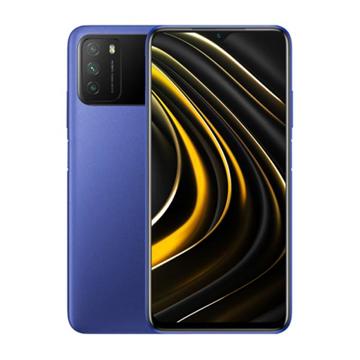 الصورة: شاومي بوكوM3 سعة 128 جيجابايت ،رام 4 جيجابايت ،الجيل الرابع 4G - ازرق