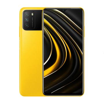 الصورة: شاومي بوكوM3 سعة 128 جيجابايت ،رام 4 جيجابايت ،الجيل الرابع 4G - اصفر