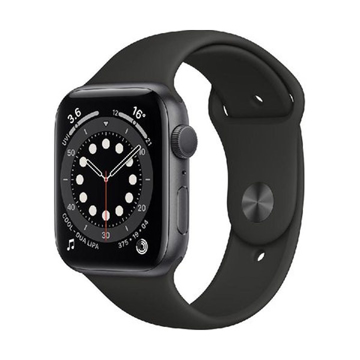 Picture of Apple Watch Series 6 40 GPS + Cellular, Space Grey Aluminum Case/Black Sport Band