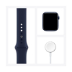 Picture of Apple Watch Series 6 GPS + Cellular, 44mm Blue Aluminium Case with Deep Navy Sport Band