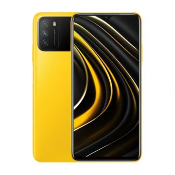 الصورة: شاومي بوكوM3 سعة 64 جيجابايت ،رام 4 جيجابايت ،الجيل الرابع 4G - اصفر