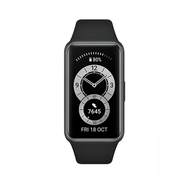 Picture of Huawei Band 6 Fitness Tracker With All Day SpO2 Monitoring - Graphite Black