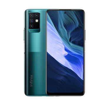 Picture of Infinix Note 10, 128 GB Ram 6 GB, 4G - Emerald Green