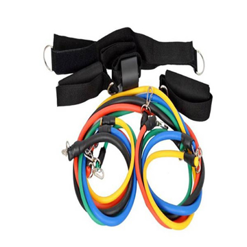Picture of Limodo 11-Piece Resistance Fitness Band Set Belt length: 1.2 metersmeter