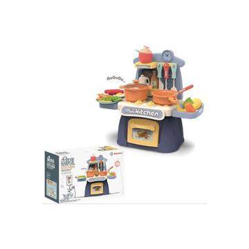 الصورة: ليمودو Mini Kitchen Play Set W/Light & Music Blue