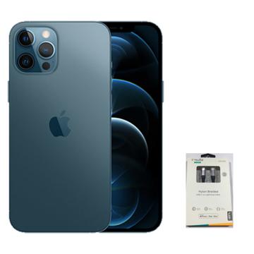 الصورة: أيفون 12 برو ماكس 128 جيجابايت - الأزرق السلمي