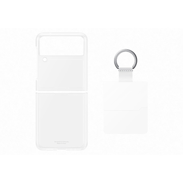 Picture of Samsung Clear Cover with Ring For Z Flip Transparency