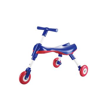 الصورة: ليمودو سكوتر 3 عجلات قابل للطي - أزرق داكن
