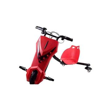 الصورة: ليمودو سكوتر درفت كهربائي بثلاث عجلات - أحمر