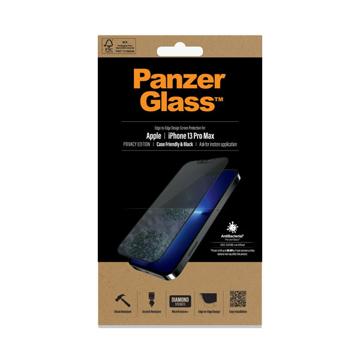 الصورة: بانزر جلاس حماية شاشة زجاجية لاجهزة ابل iPhone 13 Pro Max - ميزة الخصوصيه