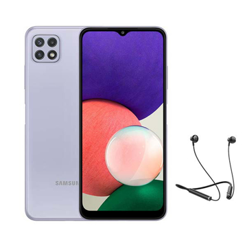 """Picture of Samsung Galaxy A22 Dual Sim, 4G, 6.6"""" 64 GB - Light Violet"""